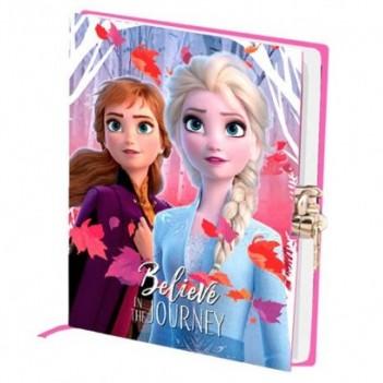 Diario llave Frozen 2 Disney