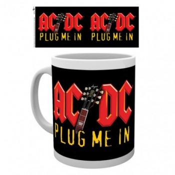 Taza AC/DC Plug Me In
