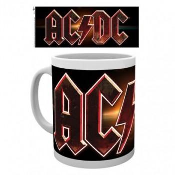 Taza logo AC/DC