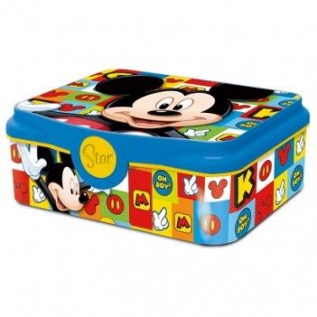 Sandwichera Mickey Disney deco