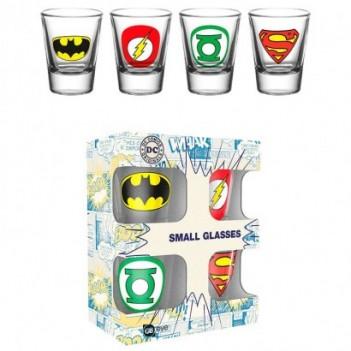 Set 4 vasos chupito Logos...