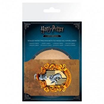 Tarjetero Hufflepuff Harry...