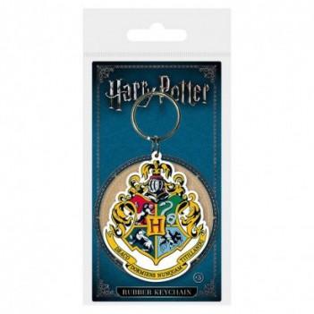 Llavero rubber Hogwarts...