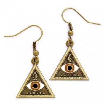 Pendientes Triangle Eye...