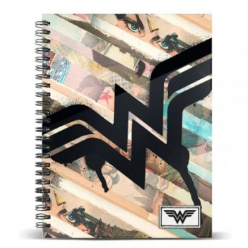 Cuaderno A4 Wonder Woman DC...
