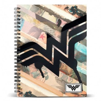 Cuaderno A5 Wonder Woman DC...
