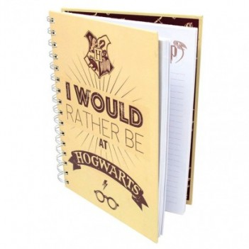 Cuaderno A5 I Would Rather...