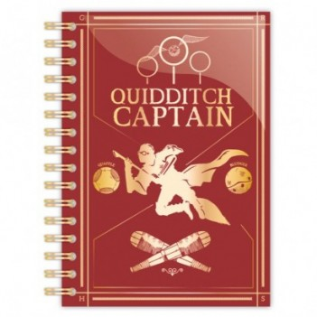 Cuaderno A5 Quidditch Harry...