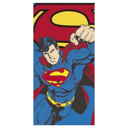 DC Poncho Toalla Superman Comics Microfibra