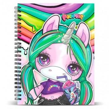 Libreta Unicorn Poopsie