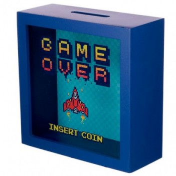 Hucha Insert Coin Game Over