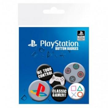 Set chapas Classic Playstation
