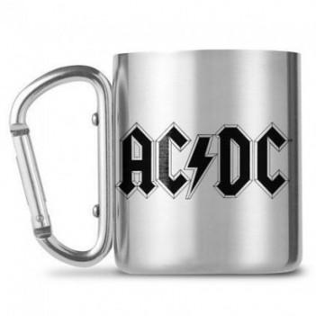 Taza mosquetón Logo AC/DC