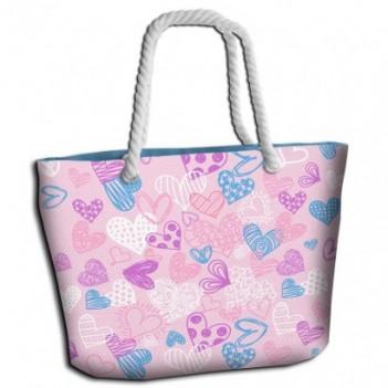 Bolsa playa Hearts