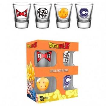 Set 4 vasos chupito Dragon...