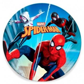 Toalla redonda Spiderman...