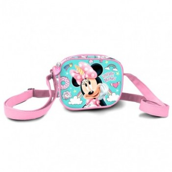 Bolso 3D Minnie Unicorn Disney