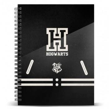 Cuaderno A4 Hogwarts Harry...