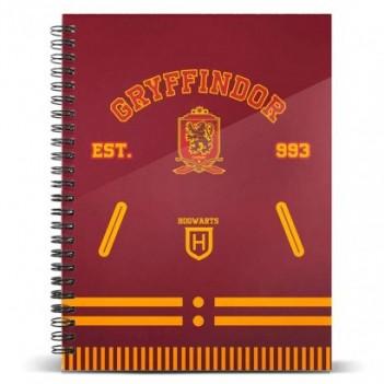 Cuaderno A5 Gryffindor...