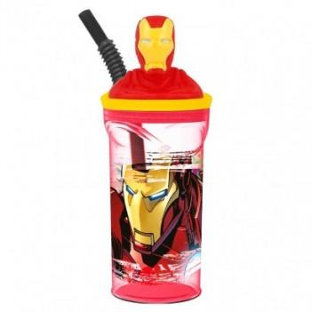 Vaso figura 3D Iron Man Marvel