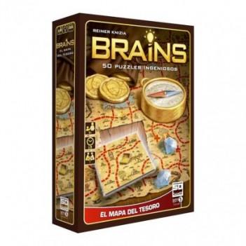 Juego BRAINS mapa del tesoro