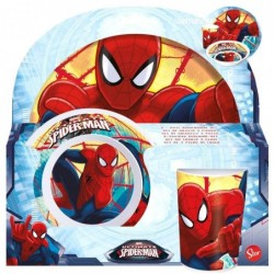 Set melamina Spiderman Marvel