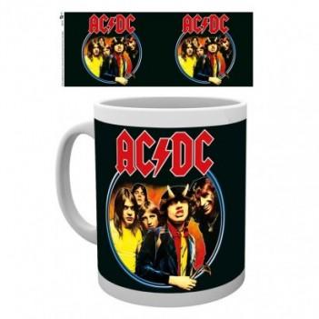 Taza AC/DC Band