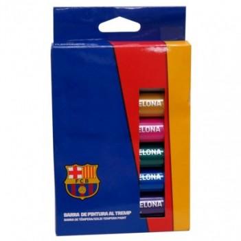 Caja temperas FC Barcelona...