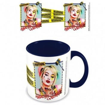 Taza Harley Quinn Warning...