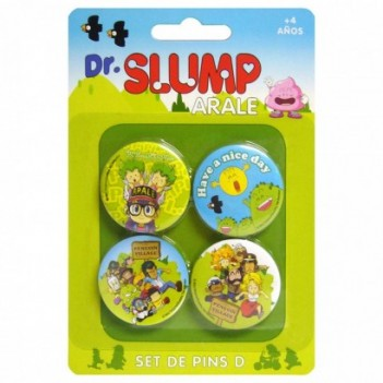 Set 4 pin Dr. Slump