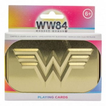 Baraja cartas Wonder Woman...