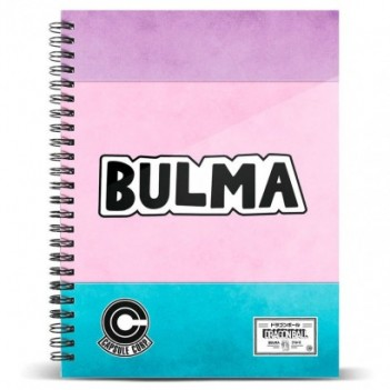 Cuaderno A4 Bulma Dragon Ball