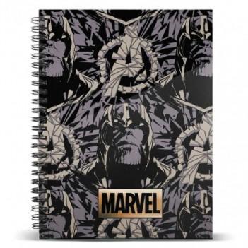Cuaderno A4 Thanos...