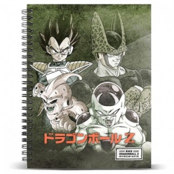 Cuaderno A5 Evil Dragon Ball