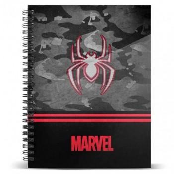 Cuaderno A5 Spiderman Marvel