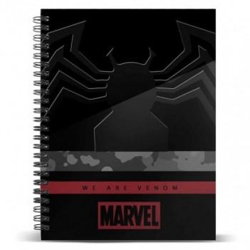 Cuaderno A5 Venom Monster...
