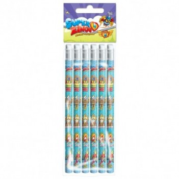 Set 6 lapices Super Zings