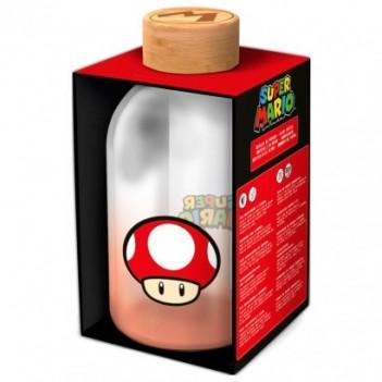 Botella cristal Super Mario...