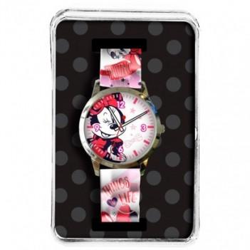 Reloj analógico Minnie Disney
