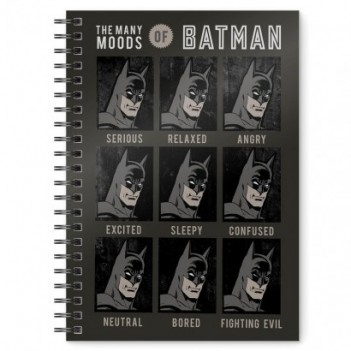 Cuaderno A5 Batman DC Comics