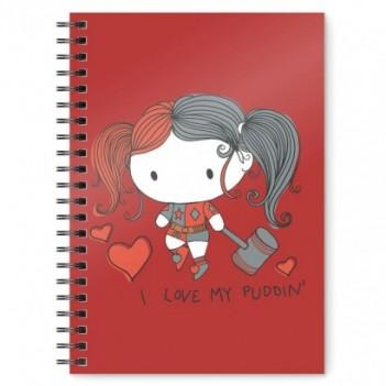 Cuaderno A5 Harley Quinn...