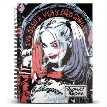 Cuaderno A5 Harley Quinn DC...