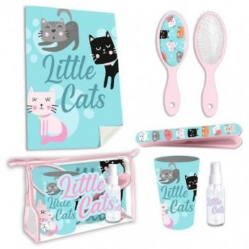 Set neceser aseo Little Cats