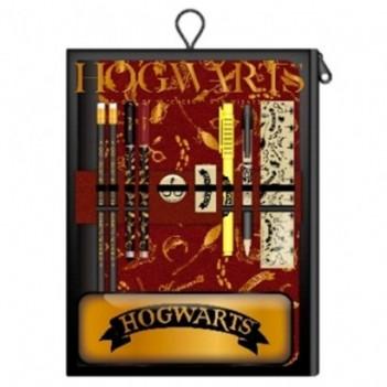 Set papelería Hogwarts...