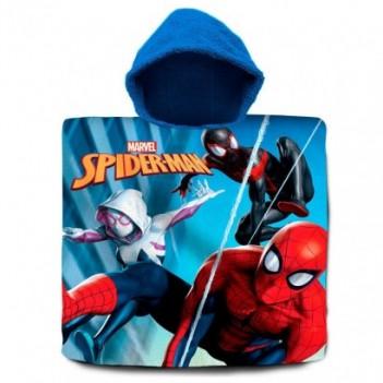 Poncho toalla Spiderman...