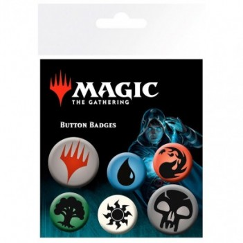 Set chapas Symbols Magic...