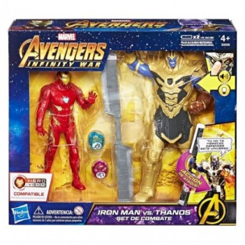 Set figuras Iron Man vs...