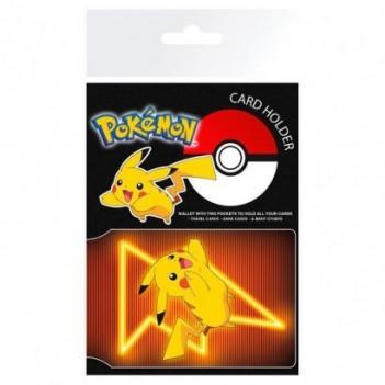 Tarjetero Pikachu Pokemon