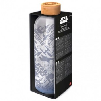 Botella cristal Star Wars...