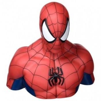 Busto hucha Spiderman...